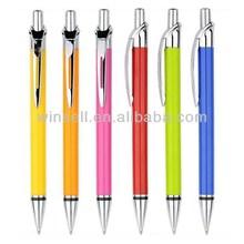 New design modern black ink plastic ball pen