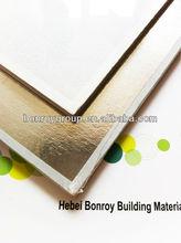 9mm PVC Laminated Series / Vinyl Coating Gypsum Ceiling Tiles /60x60 gypsum ceiling tiles