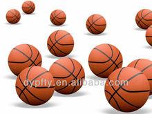 no logo printed rubber basketballs size 7#