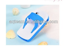 For iphone 5 Wholesale cute silicon case with cool shose Summer