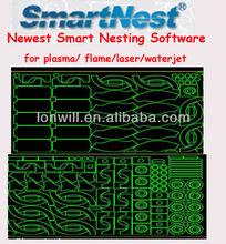 2014 newest smart nesting software for plasma/flame/laser/waterjet