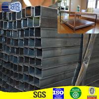 Q235 25mm Black welded Square steel tube diameter chart