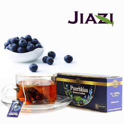 Puer blueberry tea health care tea