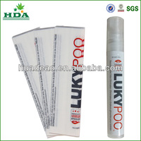 heat shrink sleeve for 10ml perfume bottle