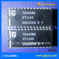 Video control combination circuit with automatic cut-off control TDA4580