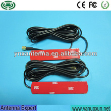 Professional Manufacturing 3.5dBi Antenna 3g Car Patch Dipole Antenna High Gain 3g Omnidirectional Antenna With RG174 Cable SMA