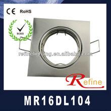 Promotion!!!White/Chrome/Chrome Matt/Antique brass/golden MR16/Max50W 12V G5.3 recessed led downlight