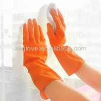 China long latex rubber gloves luvas de borracha