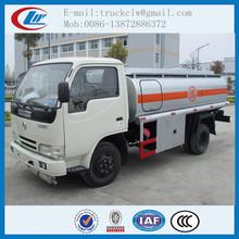 3000l-6000l camion cisterna di carburante, serbatoio olio diesel trasporto camion, usato olio di camion di rifornimento