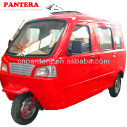 PT150ZH-5 150cc Hot New Closed Body Passenger 200cc Three Wheel Closed Cabin Cargo Tricycle