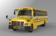 2014 new school bus mock model