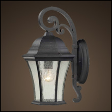 Practical outdoor decorative garden wall lamp with competitive price (HS4610-DN-S)