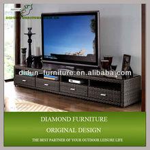 rattan modern design tv cabinet/tv kabinet
