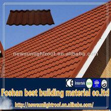 high quality hot sale in Nigeria building materials guangzhou manufacture aluminum shingles/1340*420 mm colored asphalt shingles