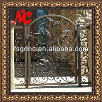 Exterior Decorative Wrought Iron Gates