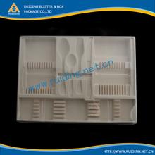 plastic silk screen tray for hardware
