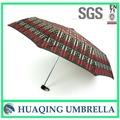 Promocional paraguas plegable de producción