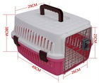 sample free high quality plastic dog or cat pet product cage health for family