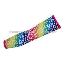 Fashion sportswear printed protective arm sleeve, anti-uv arm sleeve