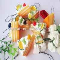 Resin artificial food model fake muffin cake models for display