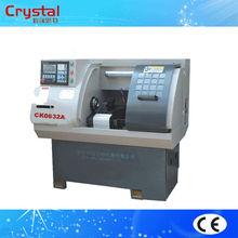 yüksek hassasiyetli düşük fiyat mini cnc torna satılık ck0632a