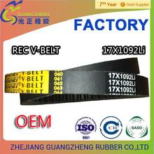 AV17X1092Li REC v belt BX GENLEI BRAND/ V BELT FACTORY ZHEJIANG/ GATES NO. 6724ES