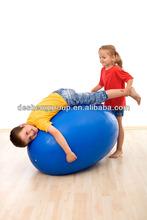 PVC anti burst yoga ball customize logo exercise ball with pump