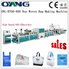 Best Ultrasonic sealing non woven rice bag sewing machine in india for d-cut bag making