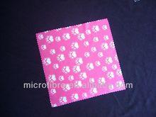 wholesale microfiber lens cloths logo