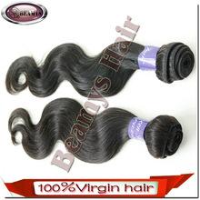Beamyshair top quality factory full stock wholesale 100% unprocessed raw virgin 5a brazilian hair weave brazilian hair ponytail