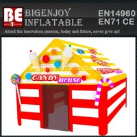Infatable Candy House With Happiness Christmas Gifts