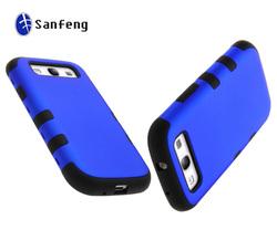 For samsung galaxy s3 i9300 cute case/newest robort combo mobile phone case cover for samsung galaxy s3
