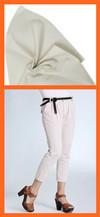 Cotton tencel like poplin with coating fabric