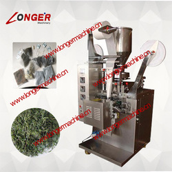 Line inside the bag with label/tea bag packing machine