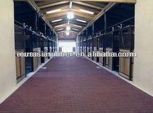 good quality dog-bone shape horse stable rubber