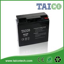 12v 20ah rechargeable sealed lead acid gel battery