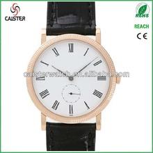 0.7mm Thickness Ultra Thin Roman No Antique Clock Labor Watch Quartz