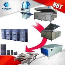 Keyland Hot Sale Semi-Automatic Solar Panel Production Line, Photovoltaic Solar Panel Make Machine