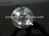 2014 Promotional Open Up Clear Plastic Baubles