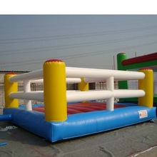 Funny sport games inflatable bouncy boxing/Boxing ring inflatables