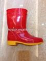 crianças pvc crianças cowboy botas de chuva