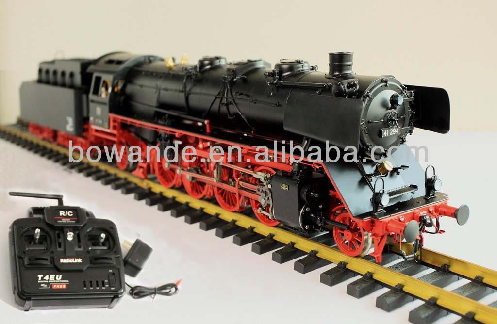Scale locomotive train rides