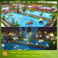 Giant inflatable amusement park water parks
