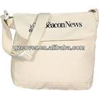 printing blank canvas shoulder messenger bags wholesale