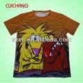 100 camiseta de algodão de cor lisa& baratos de poliéster futebol jersey& mulheres t- shirt cc-281