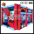 parque de diversões de jogos equipamentos de cinema 5d