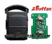 high quality Opel Corsa 2 Button Remote key 433mhz