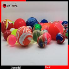 Rubber bounce ball