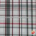 Alta calidad de la tela de algodón grandes cheques