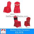 Ammortizzatore elastico che copre sedia/presidente coperture monouso per matrimoni/sedia matrimonio di copertura ecd-111/112